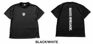 新品 バスブリゲード 【 ドライビッグTシャツ / ブラック/ホワイト M 】 SHIELD BB DRY BIG TEE BRDG デプス drt2107