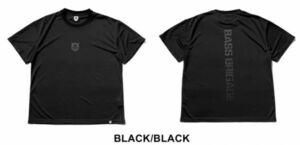 新品 バスブリゲード 【 ドライビッグTシャツ / ブラック/ブラック M】 SHIELD BB DRY BIG TEE BRDG デプス drt2107