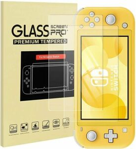 Nintendo Switch Lite 保護フィルム 飛散防止 任天堂フィルム 強化保護ガラス 旭硝子素材 硬度9H 指紋防止 #5107