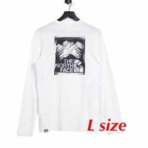 THE NORTH FACE ノースフェイス Tシャツ 長袖 ロンT 海外モデル Lサイズ 新品