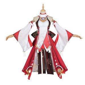 原神project(げんしん) Genshin Impact 八重神子 風 コスプレ衣装 cosplay コスチューム 変装 仮装 ハロウィ