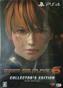 【PS4】DEAD OR ALIVE 6 コレクターズエディション