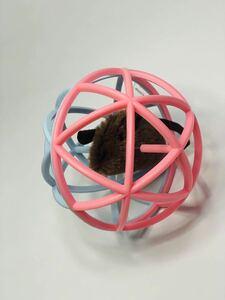 猫 おもちゃ ボール 音が鳴る 回転 噛むおもち 電動 鈴入りボール