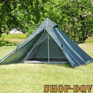 BUNDOK ソロ ティピー ワンポール テント 1人用 キャンプ ツーリング コンパクト 軽量 簡単設営 アウトドア