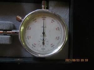 ドイツ製機械式回転計0から1000RPMまで
