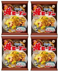 ケンミン 即席焼ビーフン(幻のカレー味) 58g×4袋  【ケンミン食品 米麺 家庭用 簡単 インスタント お米のめん】