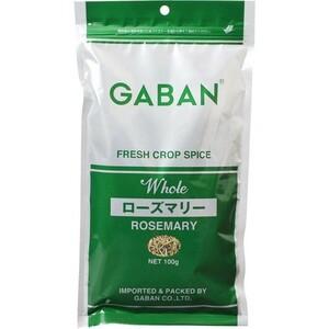 GABAN ローズマリー(ホール) 100g×10袋   【スパイス ハーブ ハウス食品 香辛料 業務用 まんねんろう】