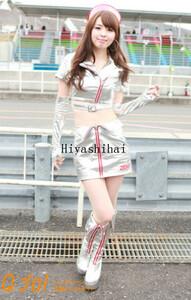 高品質生地 2015 SUPER GT 編33『ZENT sweeties 2015』 レースクイーン コスプレ衣装「靴 別売り」の商品画像
