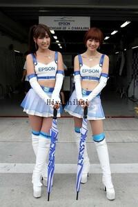 高品質生地 SUPER GT 2013 第6戦 富士 レースクイーン コスプレ衣装 「靴 別売り」の商品画像