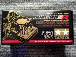 新品 タミヤ ブラシレス エレクトロニック スピードコントローラー TBLE-04SR ESCセンサー付 z0N4