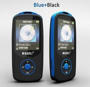 デジタルオーディオプレーヤー MP3プレーヤー RUIZU bluetooth ワイヤレス ボイスレコーダー イコライザー 電子書籍 ブ a