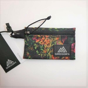 GREGORY グレゴリー CARD SIZE POUCH TROPIC FOR 新品 小銭入 コインケース