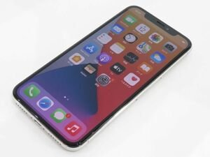 111s●SIMフリー化 iPhone X 64GB シルバー MQAY2J/A バッテリー最大容量:83% 本体のみ SIMロック解除済み ※中古/利用○(元docomo)