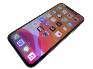 111s●au iPhone X MQAX2J/A スペースグレイ 64GB バッテリー最大容量83% ※中古/利用○