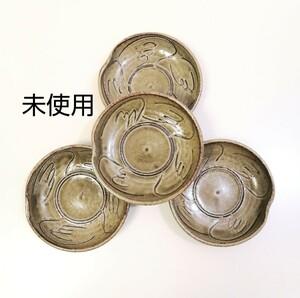 皿 小皿 和食器 4皿 セット 未使用