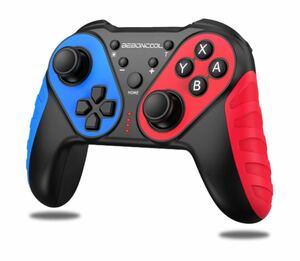 Switch コントローラー スイッチコントローラー BEBONCOOL switchに対応(赤/青)