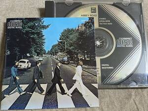 THE BEATLES - ABBEY ROAD 回収盤 CP35 BLACK TRIANGLE CBS SONY刻印あり 廃盤 レア盤 ULTRA RARE