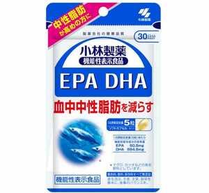 [新品・未開封品]栄養補助食品/健康食品/サプリメント 小林製薬 機能性表示食品 EPA・ DHA 150粒 30日分