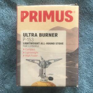 PRIMUS プリムス P-153 ウルトラバーナー カートリッジガスこんろ キャンプ アウトドア