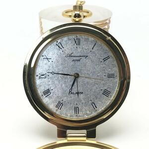 40th Anniversary 懐中時計 アラーム付き QZ [02]