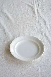 フランス サルグミンヌ ディナープレート /アンティークブロカントビンテージ蚤の市雑貨小物ヨーロッパインテリア食器