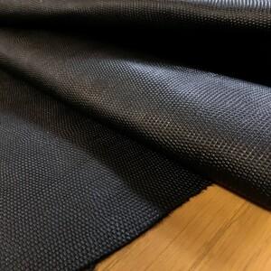 ○牛革 リザード型押し 207ds 1.1~1.2㎜ ブラック 本革 黒色