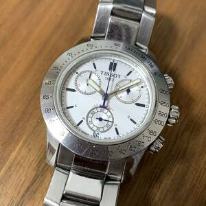 TISSOT ティソ V8 クロノグラフ メンズ 腕時計 クォーツ TKC-BC-32969
