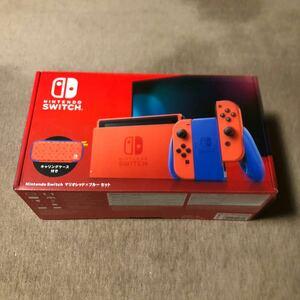新品未使用 送料無料 Nintendo Switch:マリオレッド×ブルーセット限定カラー  ニンテンドースイッチ