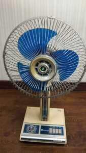 HK299 昭和レトロ 扇風機 ELECTRIC FAN 型番不明 30㎝ NATIONAL ナショナル アンティーク 不動 現状品 JUNK