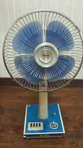 HK305 昭和レトロ 扇風機 H-30AJ 30㎝ TOSHIBA 東芝 アンティーク 通電&回転&簡易清掃OK 現状品 JUNK