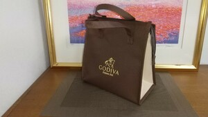 GODIVA☆ 保冷バッグ 保冷剤 ゴディバ クーラーバッグ