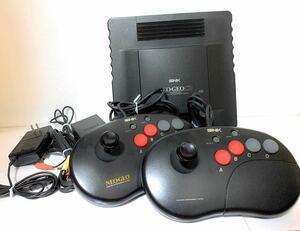 ネオジオCD 各種ケーブル ジョイスティックコントローラー2個 セット