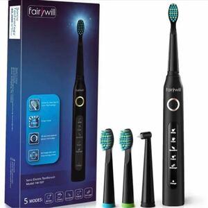 【Fairywill 電動歯ブラシ】電動歯ブラシ 音波歯ブラシ 充電式