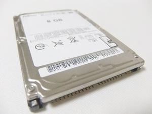 【保証付・送料198円~】NEC製PC-98ノートシリーズ用内蔵2.5インチHDD 8GB 保証付 信頼の富士通製HDD 予備やバックアップに動作確認済.