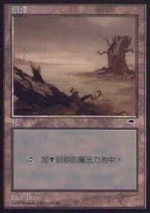 020348-044 TE/TMP 基本土地 沼/Swamp(2) 中1枚
