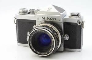 Nikon F Eye Level + NIKKOR-S Auto 5cm F2 NIPPON KOGAKU body lens ニコン アイレベル ボディ レンズ ♯647