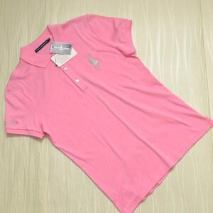 ◆RALPH LAUREN GOLF ラルフローレン ゴルフ トップス 薄手 半袖 ポロシャツ SIZE:L レディース [S105272]