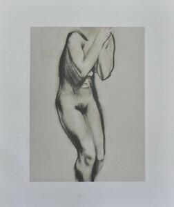 巨匠作家希少版画作品!   マリノ・マリー二  版画  「nudo,1927」    1968年制作   【正光画廊】