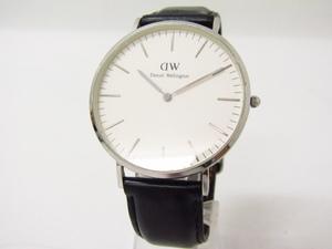 Daniel Wellington ダニエルウェリントン Classic O40S3 クォーツ腕時計 レザーベルト♪AC20912