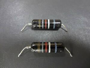 2個セット SPRAGUE Bumble Bee 0.0018μF 600V Vintage オイルペーパーコンデンサー 中古品