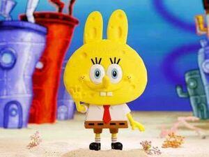 スポンジボブ spongebob フィギュア the monsters Labubu コラボ pop mart アメコミ 限定