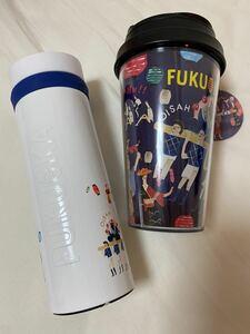 スターバックス 福岡 タンブラー ステンレスボトル