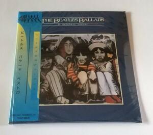 CD輸入盤リプロ盤 紙ジャケ Beatles Ballads ビートルズ バラード・ベスト20