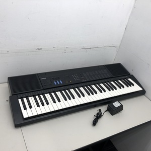 ◆ CASIO カシオ CTK-530 ELECTRINIC KEYBOARD キーボード 電子ピアノ 61鍵盤 ACアダプタ 付属 液晶表示難有り 動作OK 現状品 中古