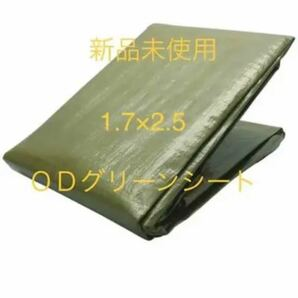 ODグリーン 新品未使用 パップテント 1.7×2.5