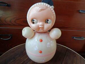 [昭和レトロ] レア キューピー 起き上がりこぼし おきあがりこぼし 人形 玩具