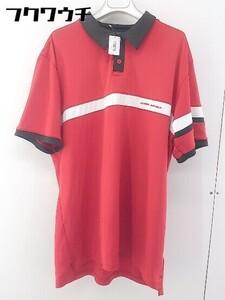 ◇ ◎ UNDER ARMOUR アンダーアーマー 大きいサイズ 半袖 ポロシャツ サイズXXL レッド メンズ
