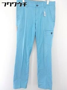 ◇ le coq sportif ルコック スポルティフ ゴルフウェア パンツ サイズ82 ライトブルー メンズ