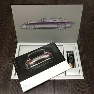 【即決】【特別な顧客向けのキー型USBカタログ & ハードカバー写真集 専用BOX付】パナメーラ (970型) Bose ポルシェ Porsche Panamera
