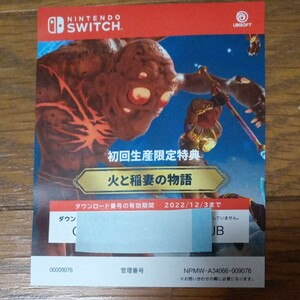 特典コードのみ【Switch】 イモータルズ フィニクス ライジング